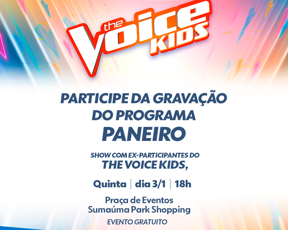 THE VOICE KIDS - PANEIRO
