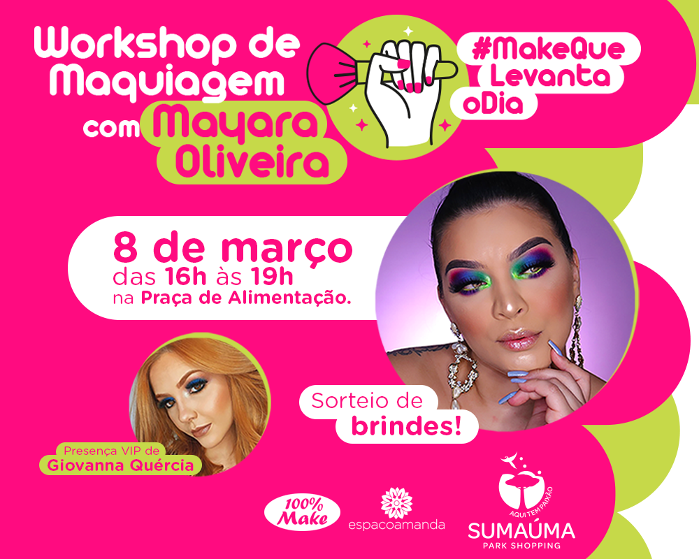 WORKSHOP COM MAYARA OLIVEIRA