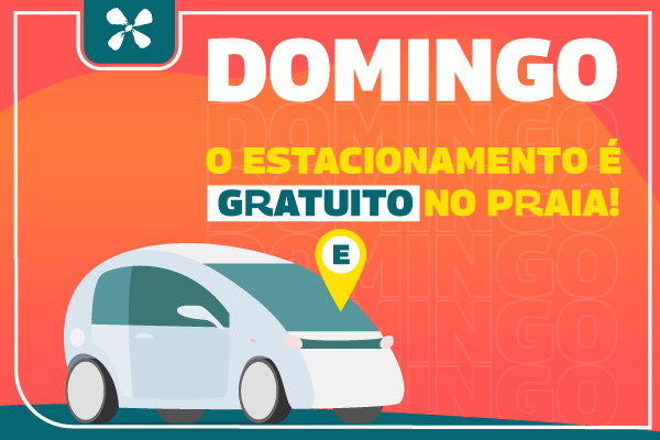 Estacionamento - Domingo Gratuito