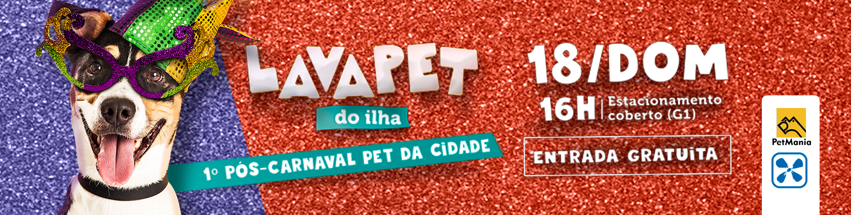 LAVA PET DO ILHA