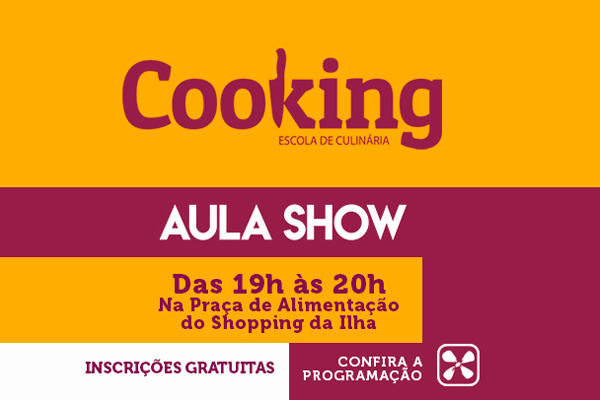 AULA SHOW COOKING