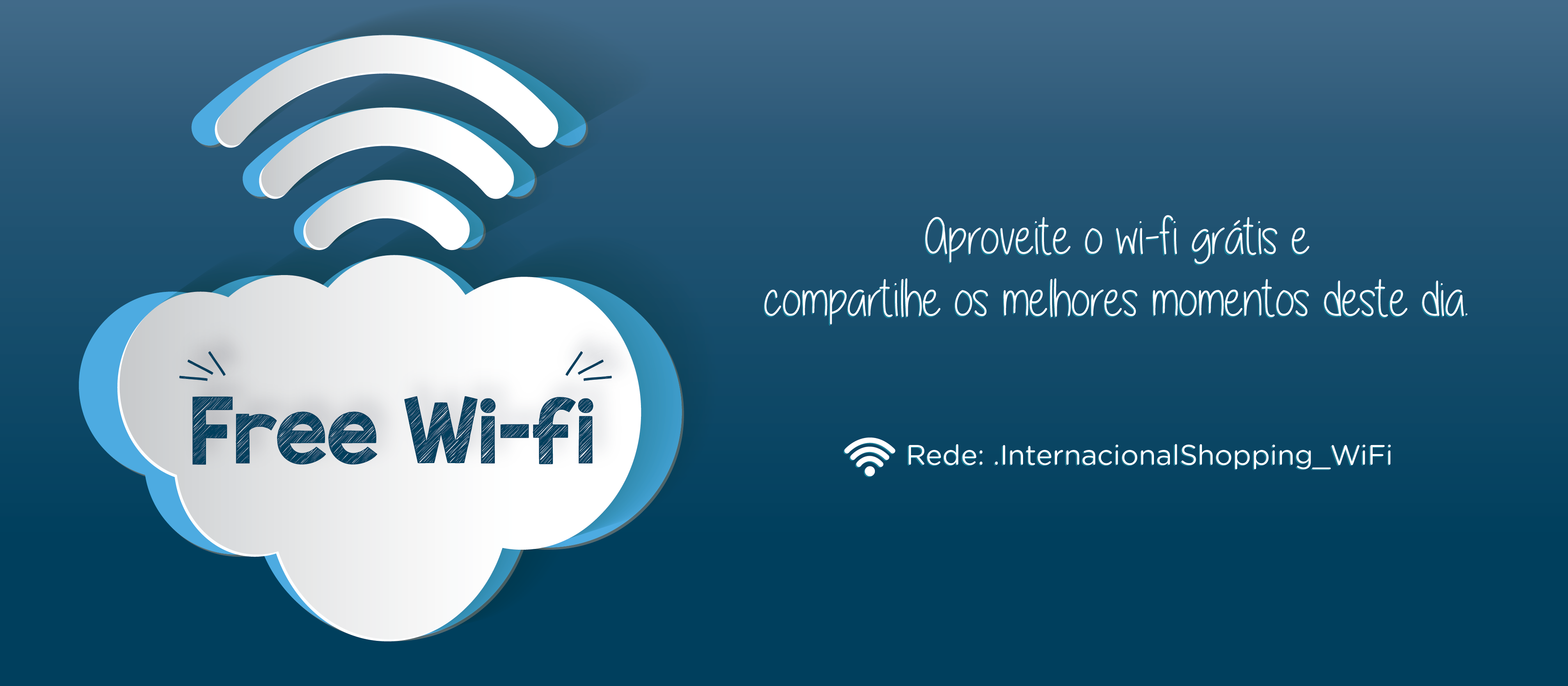 Wi-Fi Gratuito no Inter